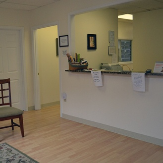 LCC Reception Area
